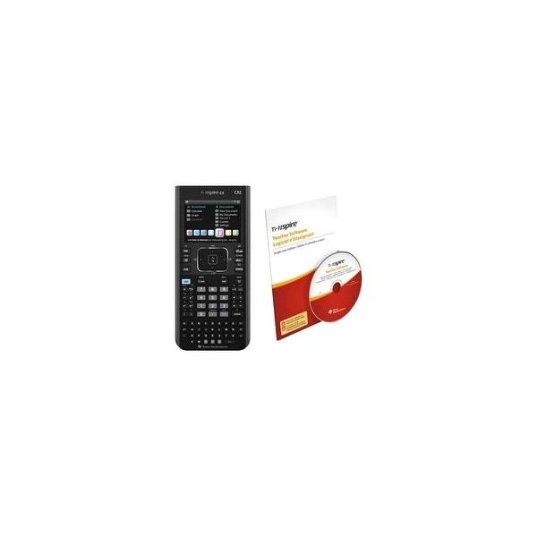Texas Instruments N3CAS/CBX/2L1/B Texas Instruments N3CAS/CBX/2L1/B TI-NspireCX CAS Teacher Bundle - Battery Powered