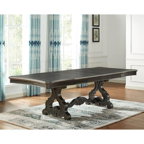 Gracewood Hollow Raymond Dark Molasses Dining Table
