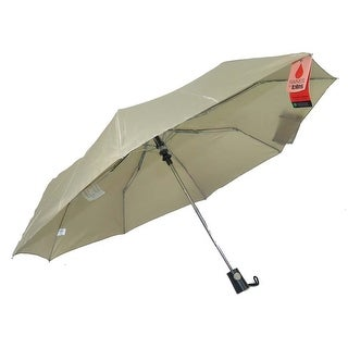 Raines by Totes Automatic Tan Umbrella with Medium Coverage