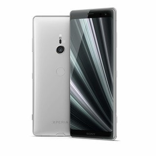 "Sony Xperia XZ3 Unlocked Phone 6.0"" OLED Screen 64GB (White Silver) - White Silver"