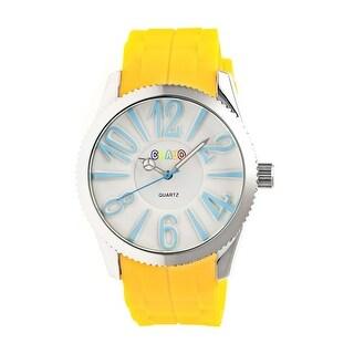 Crayo Magnificent Women's Quartz Watch, Silicone Strap, Luminous Hands