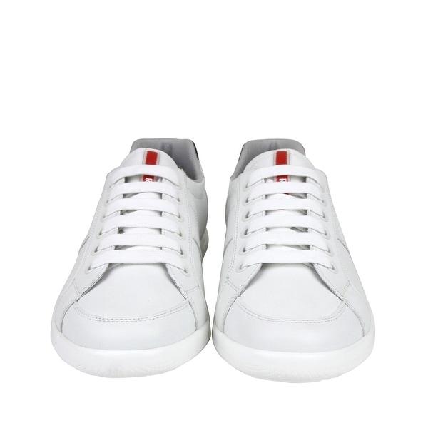 Navy Leather Sneaker 4E2845 (6.5 EU
