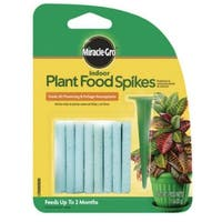 Miracle-Gro 1002521 Plant Food Spike, 1.1 Oz