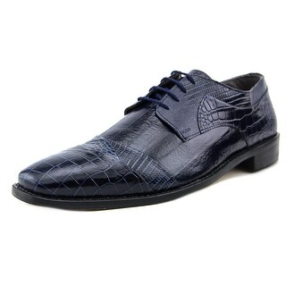 Stacy Adams Garibaldi Men Round Toe Leather Blue Loafer