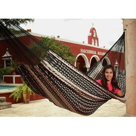 Sunnydaze XXL Thick Cord Mayan Hammock (2 options available)