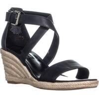 Nine West JorgaPeach Espadrilles Sandals, Black