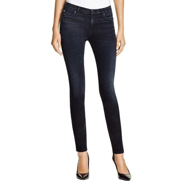 Hudson Womens Nico Skinny Jeans Stretch Mid-Rise