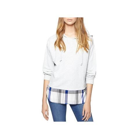 Sanctuary Womens Lucca Sweatshirt Hoodie Shirt