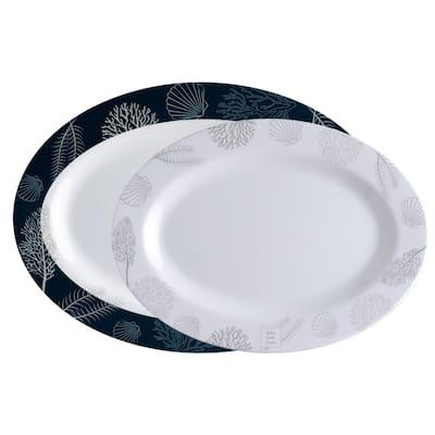 Living Oval Serving Platters