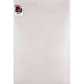 "Ultra Stiff Plastic Canvas 7 Count 12""X18""-Clear - CLEAR"