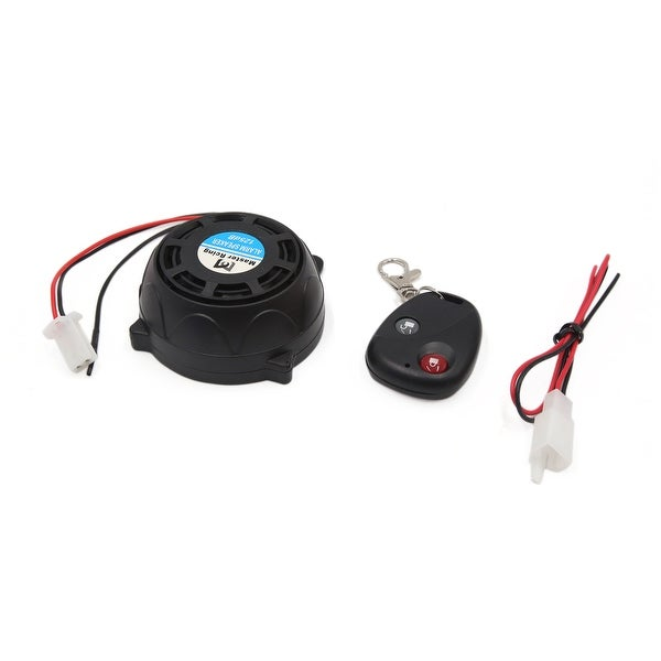9-16V 315MHz Round Motorcycle Remote Control Anti-theft Alarm Security System