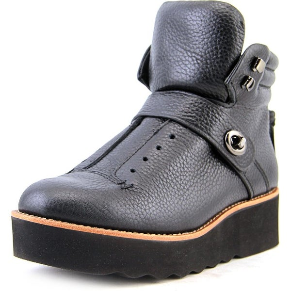 Coach Urban Hiker Round Toe Leather Boot