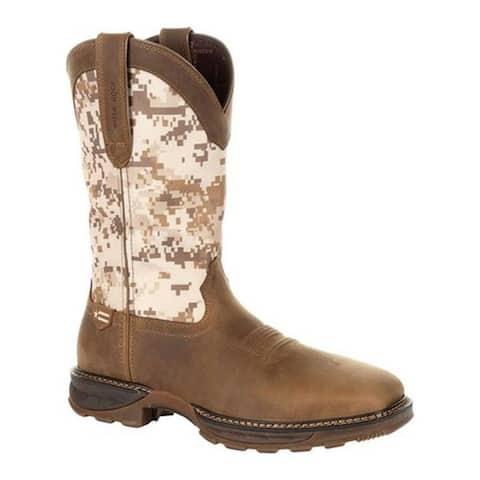 1d97e86209d9 Durango Boot Men s DDB0207 Maverick XP Ventilated Western Work Boot Dusty  Brown Desert Camo Full