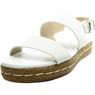 Via Spiga Lilit Open-Toe Leather Slingback Sandal
