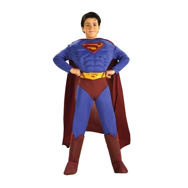 Superman Returns Boys Costume, Small (4-6)