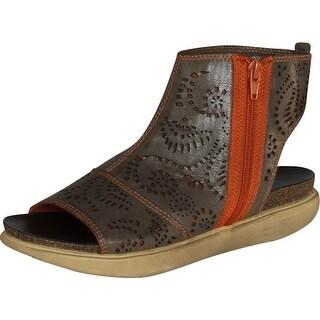 Otbt Womens Malden Fashion Sandals - Dark Brown - 9 b(m) us