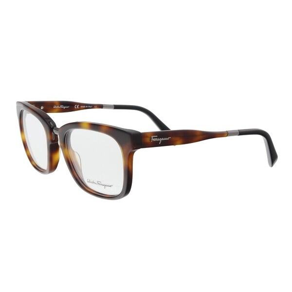 Shop Salvatore Ferragamo SF2785 232 Tortoise Black Optical Frames ...