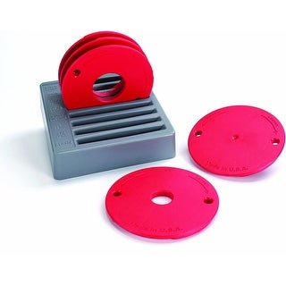 Link to Kreg Level-Loc Reducing Rings (5-Piece Set) - Red Similar Items in Vacuums & Floor Care
