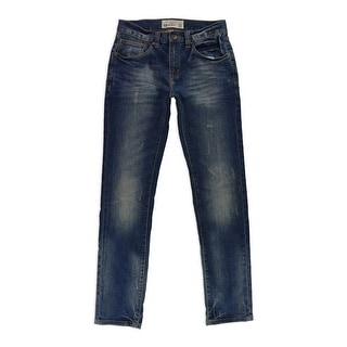 Link to Ecko Unltd. Mens Clement Skinny Fit Jeans, blue, 30W x 32L Similar Items in Pants
