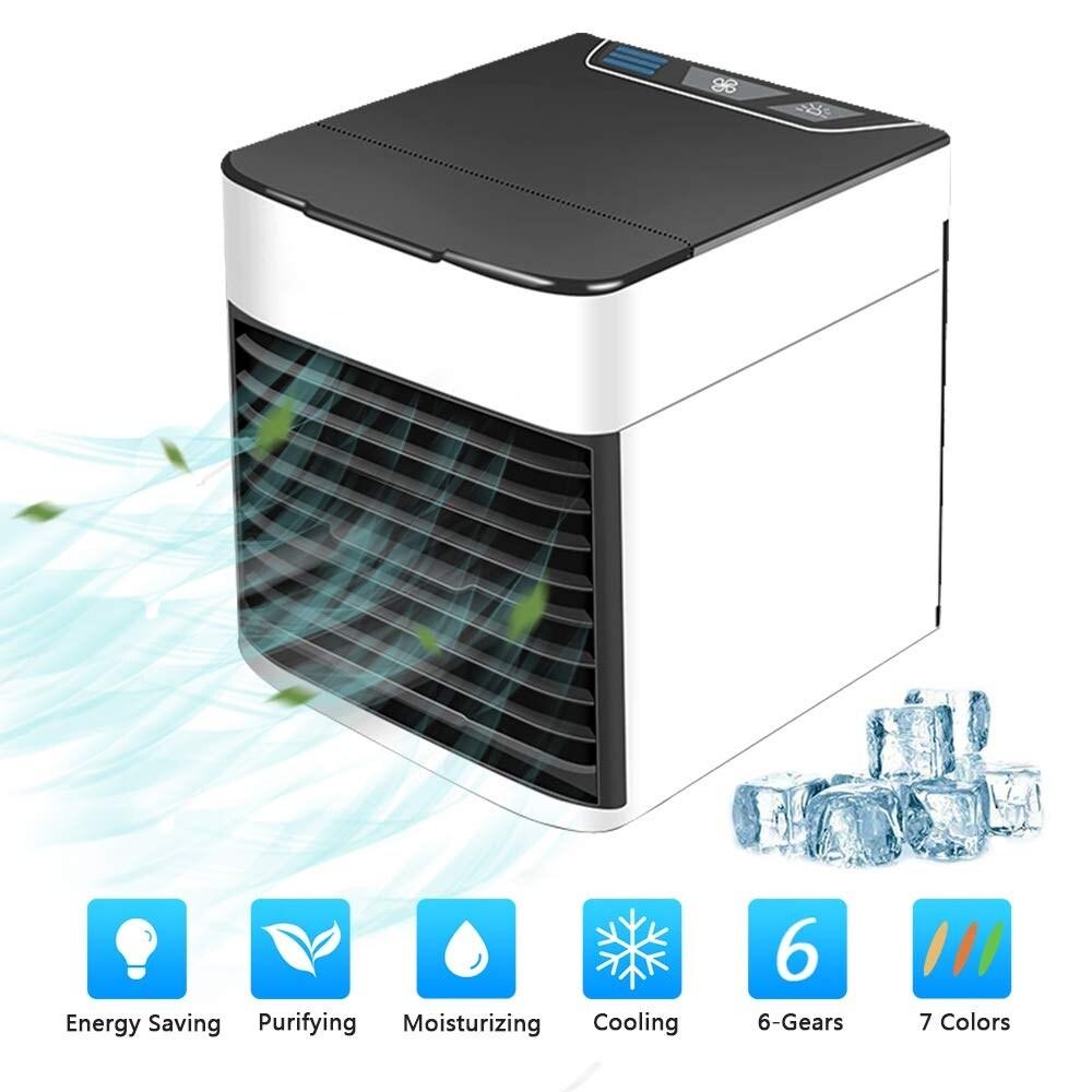 Shop Orvisinc 3 In 1 Usb Mini Air Conditioning Fan Humidifier