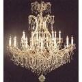 Swarovski Elements Crystal Trimmed Chandelier Lighting 25 Lights - Thumbnail 0