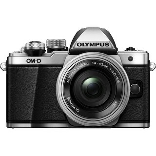 Olympus V207052BU000 Olympus OM-D E-M10 Mark II 16.1 Megapixel Mirrorless Camera with Lens - 14 mm - 42 mm - Black - 3""
