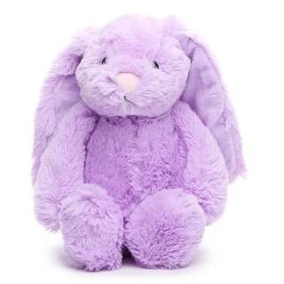 Gitzy Purple Bunny Rabbit Plush - 8.0 in. x 6.0 in. x 6.0 in.