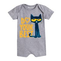 Pete The Cat  Do Your Best  - Infant Romper