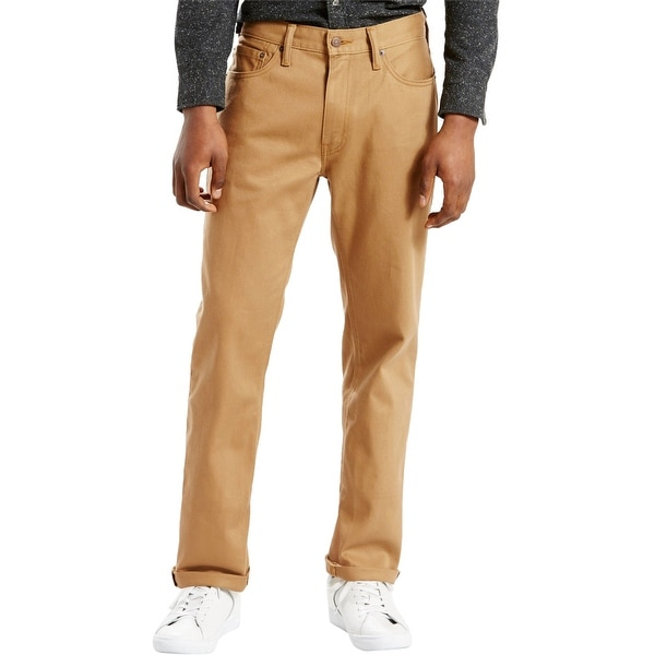 Levi's Mens Athletic Fit Stretch Jeans, Brown, 38W x 32L. Opens flyout.