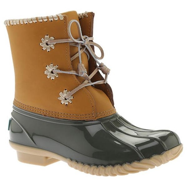 16ab24fbb07 Shop Jack Rogers Women's Chloe Duck Boot Olive Leather/Rubber - On ...
