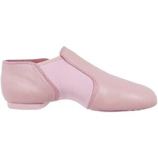 Pink Leather Spandex Neoprene Gore Split Sole Design Jazz Boots 5-12 Womens