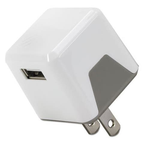 SOS USBH121WT Flip Wall Charger USB - White