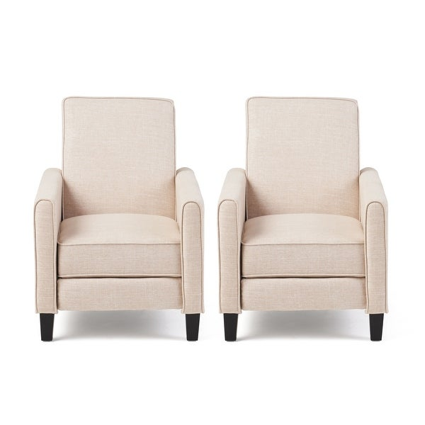 Shop Darvis Contemporary Fabric Recliner (Set of 2) by