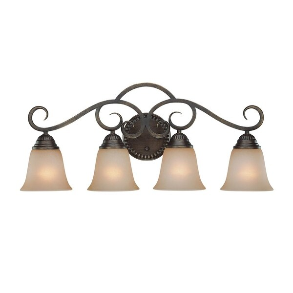 Jeremiah Lighting 26004 Gatewick 4 Light Bathroom Vanity Light - 29 Inches Wide
