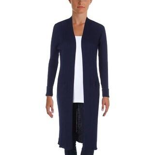Lauren Ralph Lauren Womens Plus Cardigan Sweater Knit Ribbed - 1x