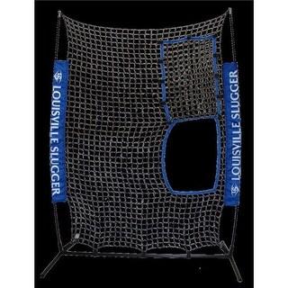 GameMaster L60116 Louisville Slugger Flex Net, Black & Blue
