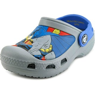Crocs Creative Crocs Batman Clog Toddler Round Toe Synthetic Gray Clogs