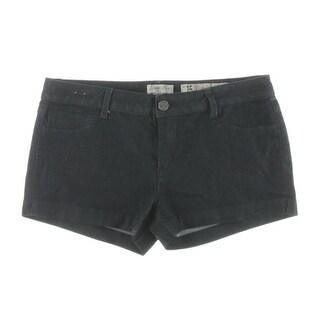 Indigo Rein Womens Juniors Denim Shorts Denim Dark Wash Blue 15 CTTW - 15 cttw