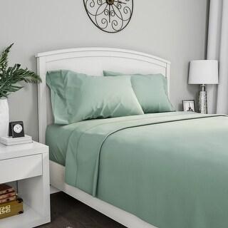 Winsor Home Series 1200 Sage Bed Sheet Set (Twin XL)