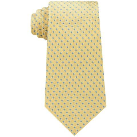 e82728d69 Tommy Hilfiger Men s One Connected Dot Silk Neck Tie