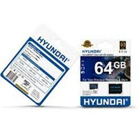 Hyundai Technology  64GB Micro SDHC Cl10 U1 Flash Card with Adapter