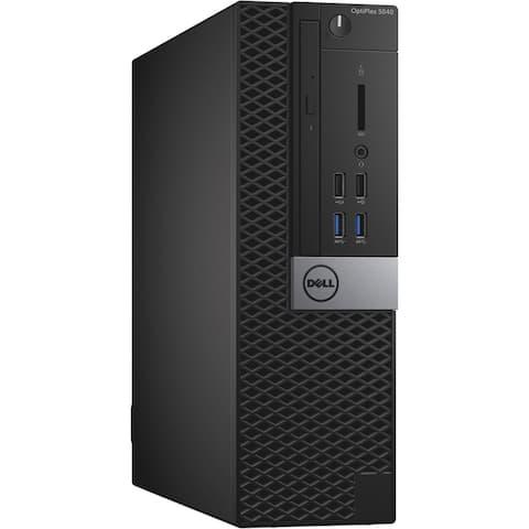 Dell 5040 SFF i7-6700 3.4 16GB 480GB SSD Win 10 Pro (Refurbished)