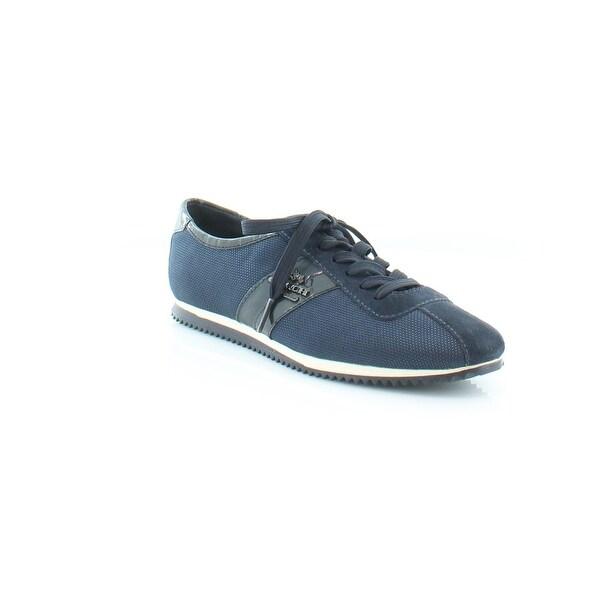 7d19b3ab6 Shop Coach Elettra Women's Fashion Sneakers Navy/Midnight Navy - 5 ...