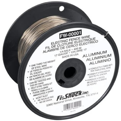 Shop Fi Shock Fw 00001t Electric Fence Wire 1 4 Mile