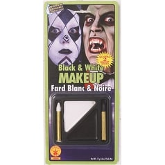 Black and White Makeup Kit Halloween Accessories