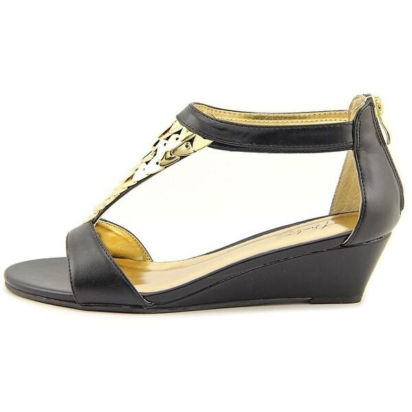 Thalia Sodi Womens ANITAH Leather Open Toe