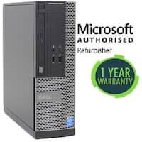 Refurbished Dell 3020 SFF, intel i5(4570) - 3.2GHz, 8GB, 1TB, DVD, W10 Pro, WiFi