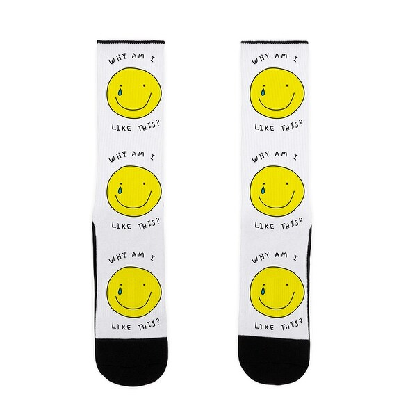 Why Am I Like This US Size 7-13 Socks by LookHUMAN