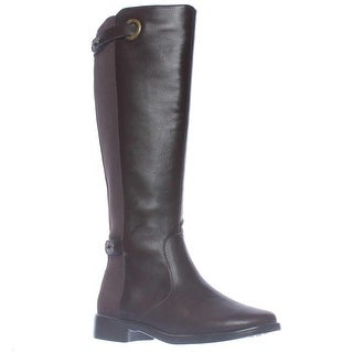 Aerosoles One Wish Expandable Calf Knee-High Riding Boots - Brown