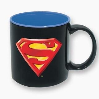 DC Comics Superman Logo 16oz Ceramic Coffee Mug - Multi